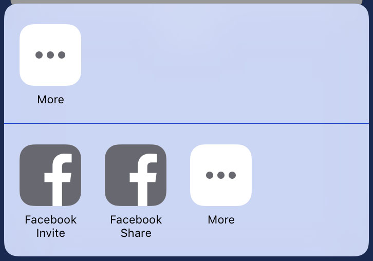 ARFacebookShareKitActivity Screenshot 5