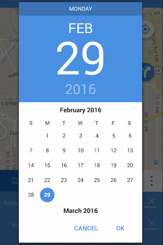 Material Date Time Picker in Xamarin.Android app