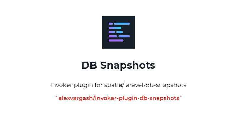 DB Snapshots