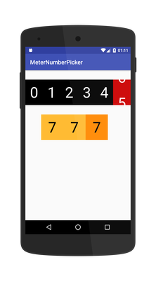 The Android Arsenal - Number Pickers - A categorized directory of