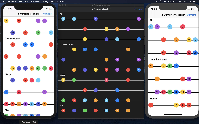 Combine Framework Marble Diagram Visualizer App
