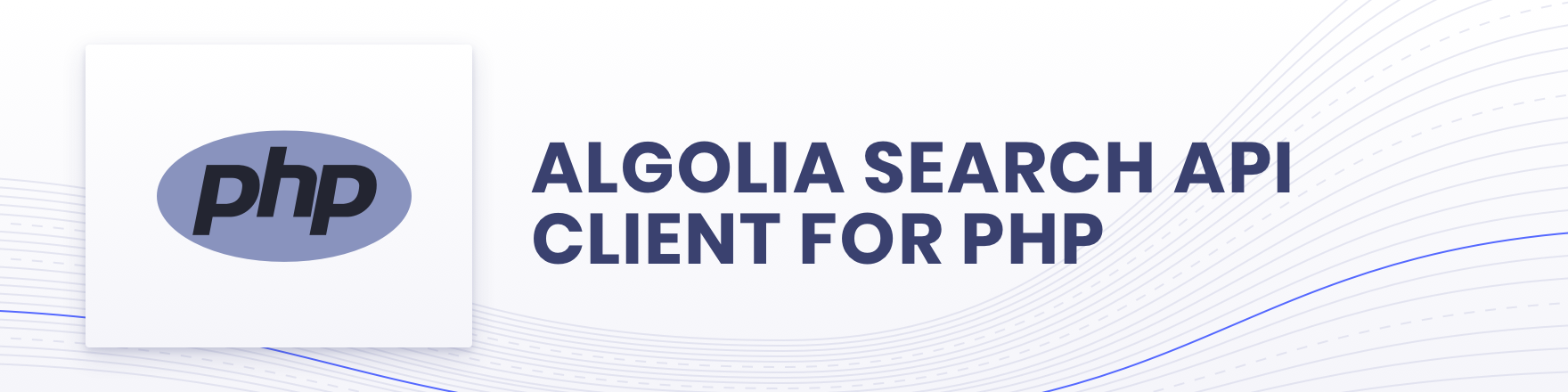 Algolia for PHP