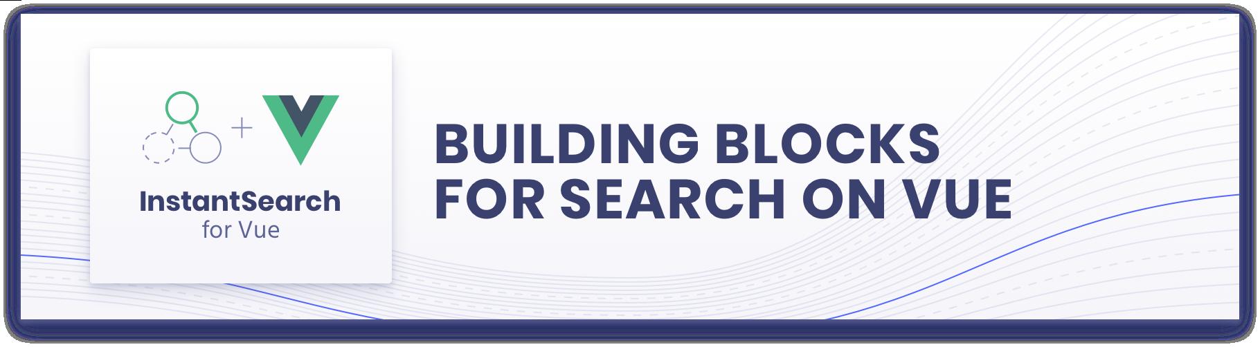 Vue InstantSearch logo