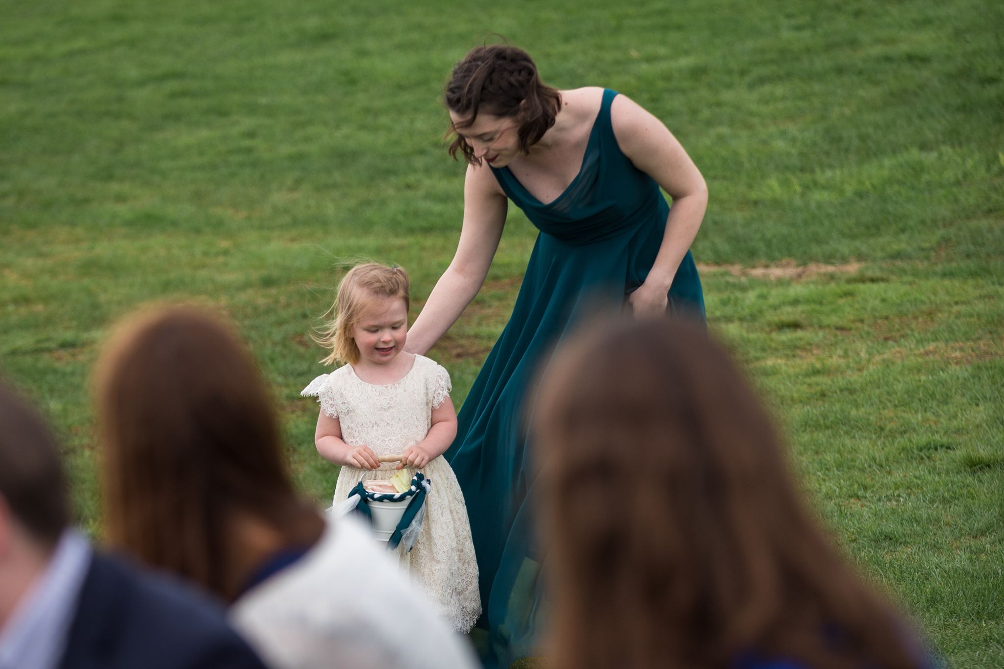 Winnie and Alisa at the Wedding