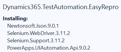 1564952837073 Test Automation and EasyRepro: 01   Overview and Getting Started