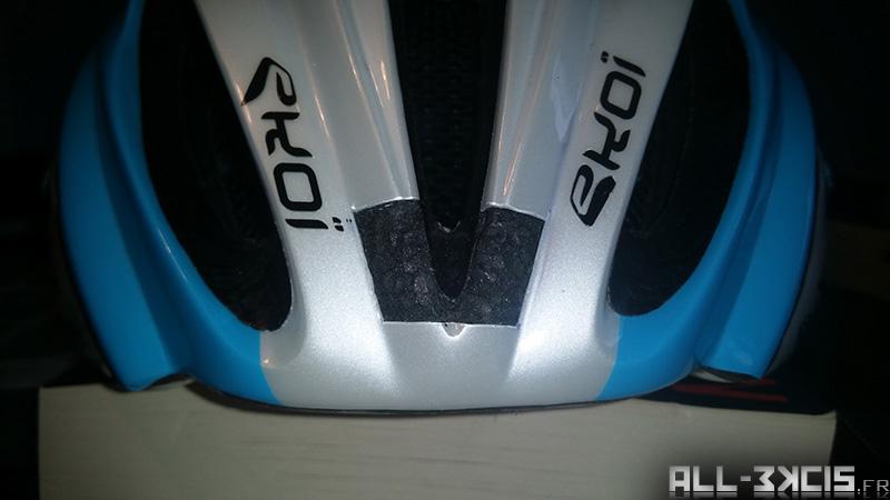Fixer une caméra sportive sur un casque de vélo - étape 3 - Découpe du casque