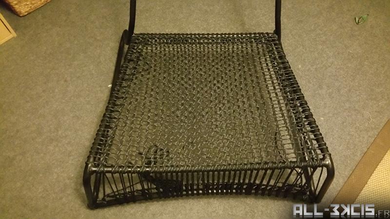 fauteuil Ikea Masö paracorde