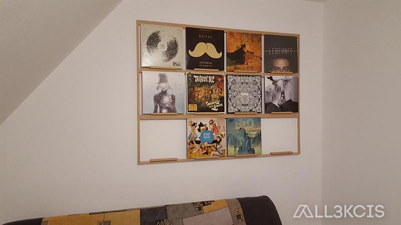 Fabrication mur de vinyle