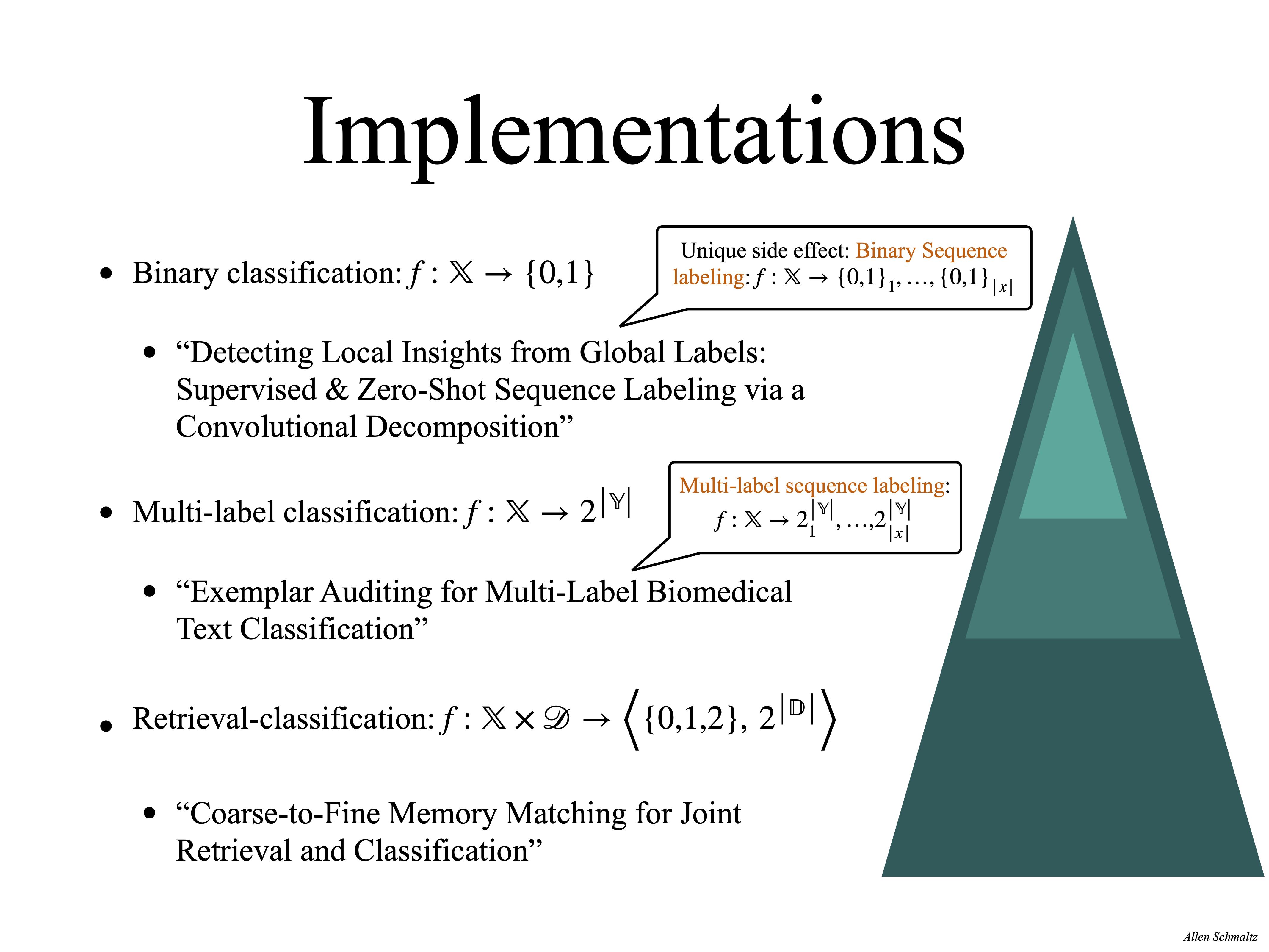 Exemplar Auditing Implementations