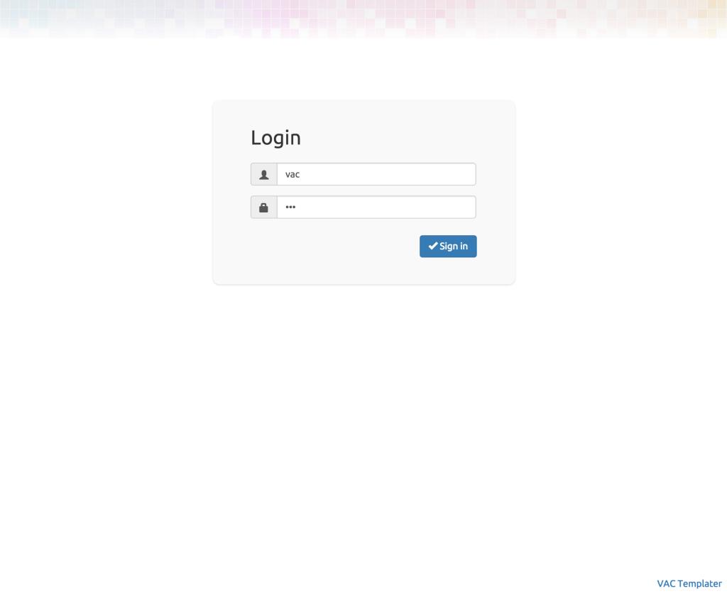 GitHub - allenta/vac-templater: VAC (Varnish Administration Console ...