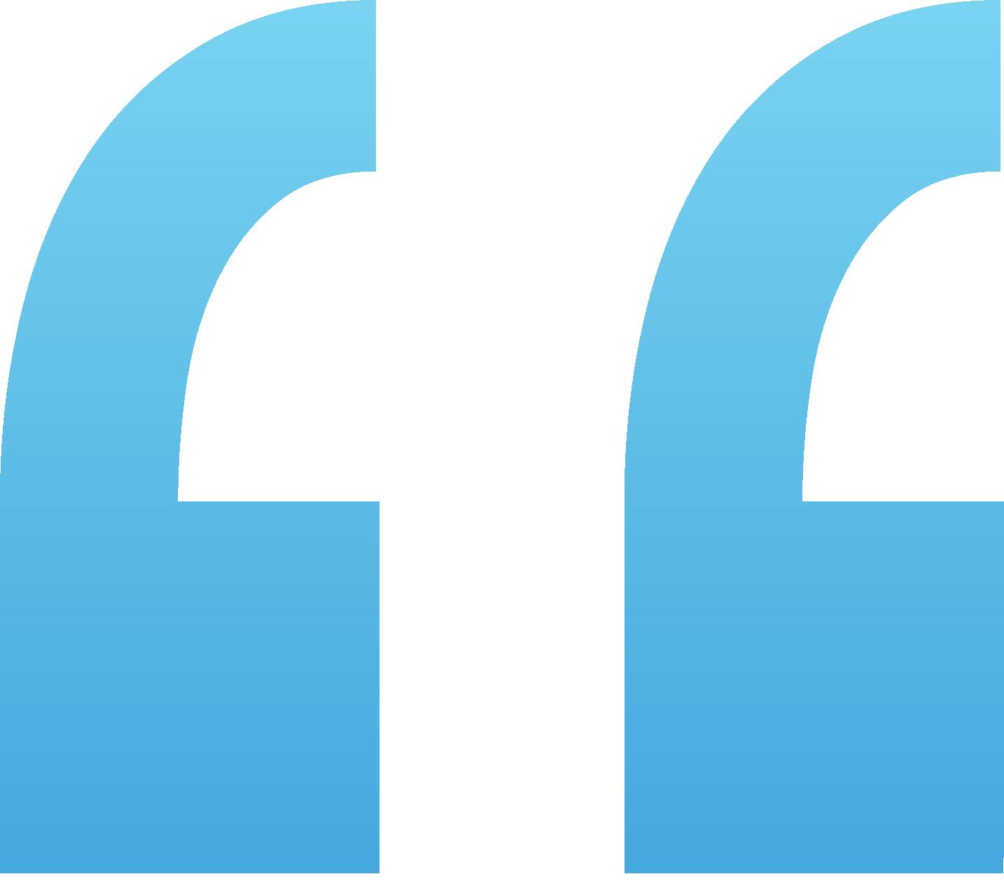 quotation mark illustration
