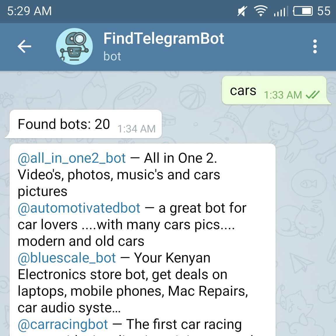 GitHub - alopatindev/find-telegram-bot: Search Telegram Bots with
