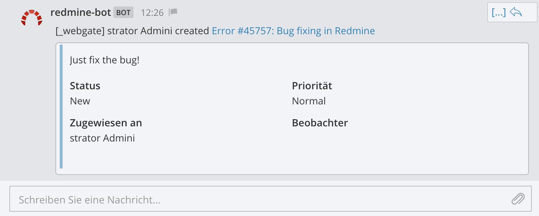 GitHub - AlphaNodes/redmine_messenger: Messenger plugin for