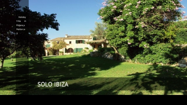Holiday Villa in Pollenca Mallorca X booking