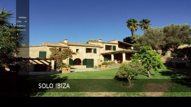 Villa Holiday Villa in Pollenca Mallorca X