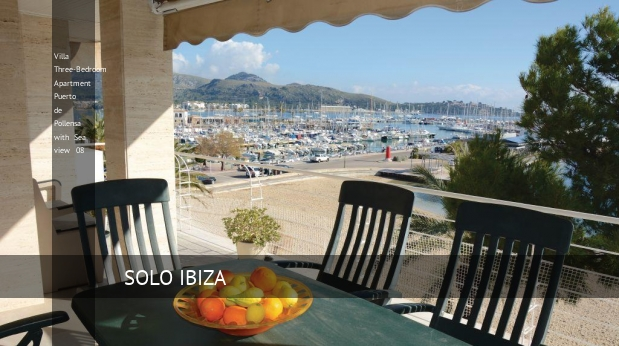 Villa Three-Bedroom Apartment Puerto de Pollensa with Sea view 08