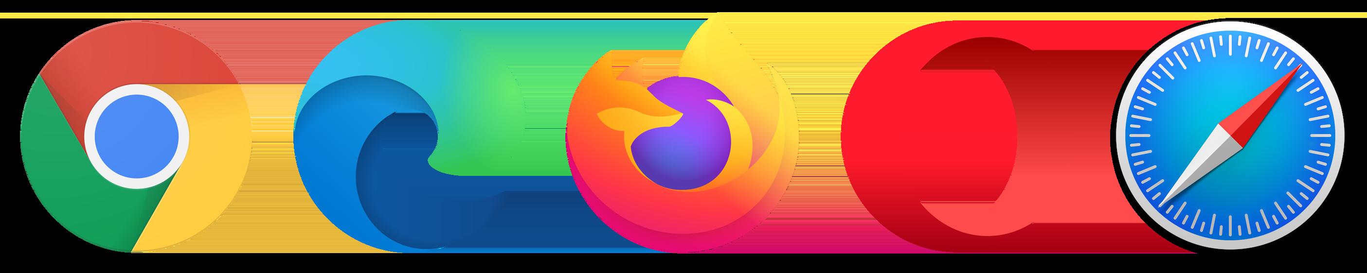 Main desktop browsers