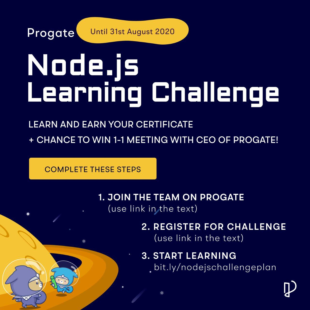 Node.js Learning Challenge