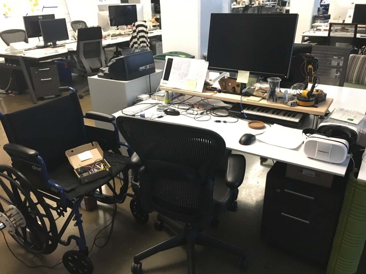 picture of VR Wheelchair