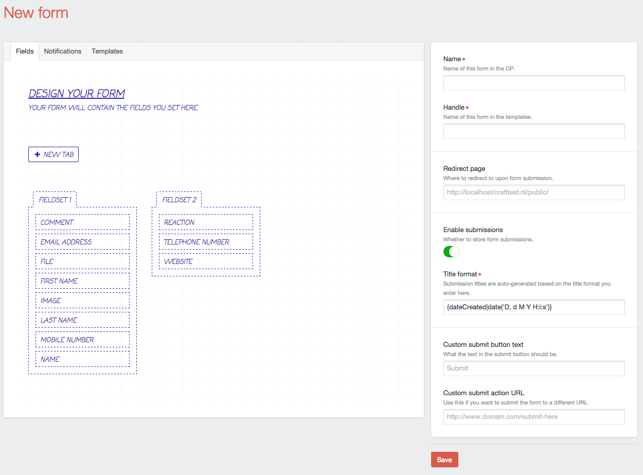 github am impact amforms forms plugin for craft
