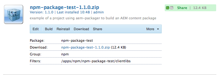 aem-packager - npm
