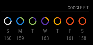 Colored rings screenshot