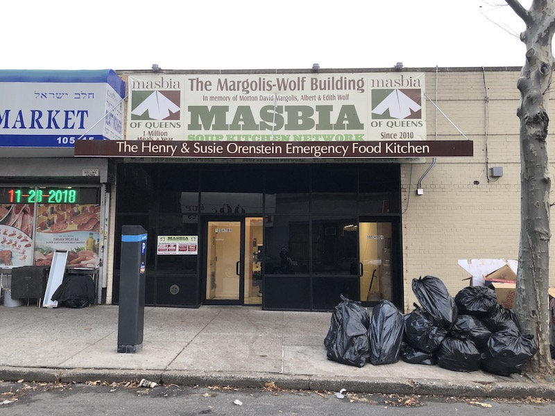 Masbia Soup Kitchen in Forest Hills, Queens by A.M. Hammond