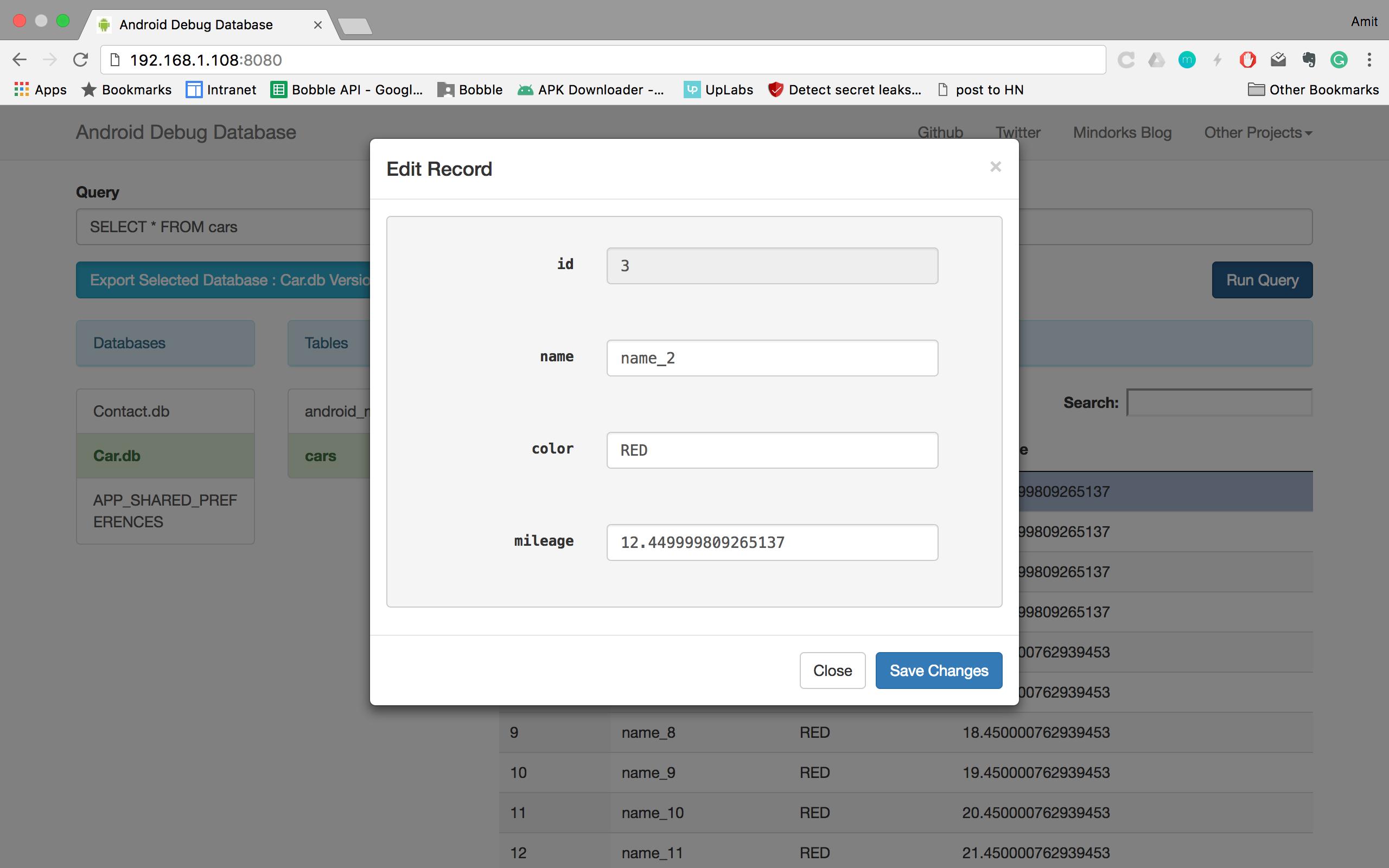 GitHub - amitshekhariitbhu/Android-Debug-Database: A library