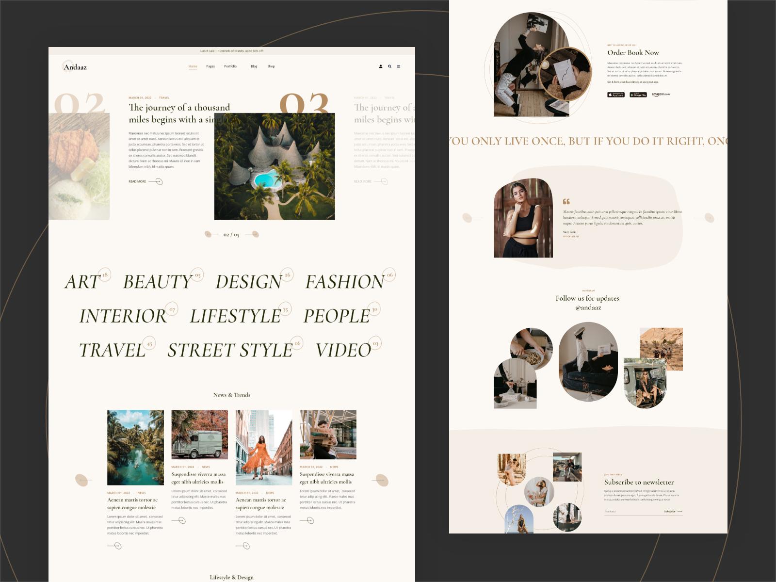 Andaaz WordPress Theme