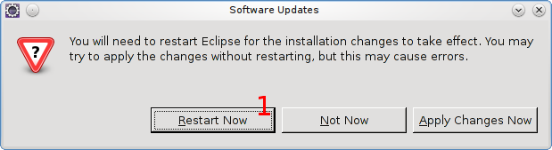 Restart Eclipse for the changes take effect.