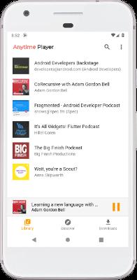 Flutter Podcast Player