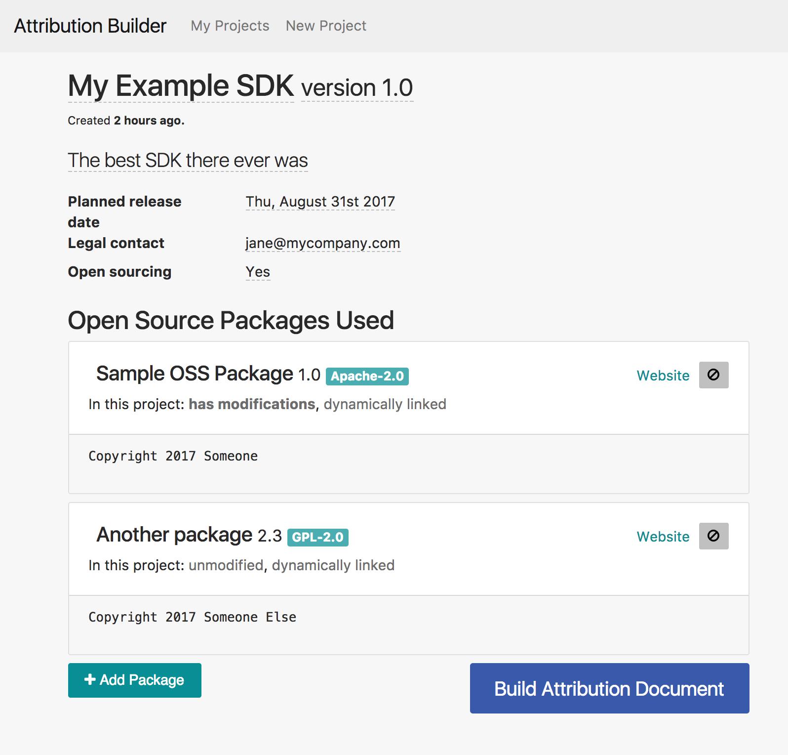 GitHub - amzn/oss-attribution-builder: The OSS Attribution Builder