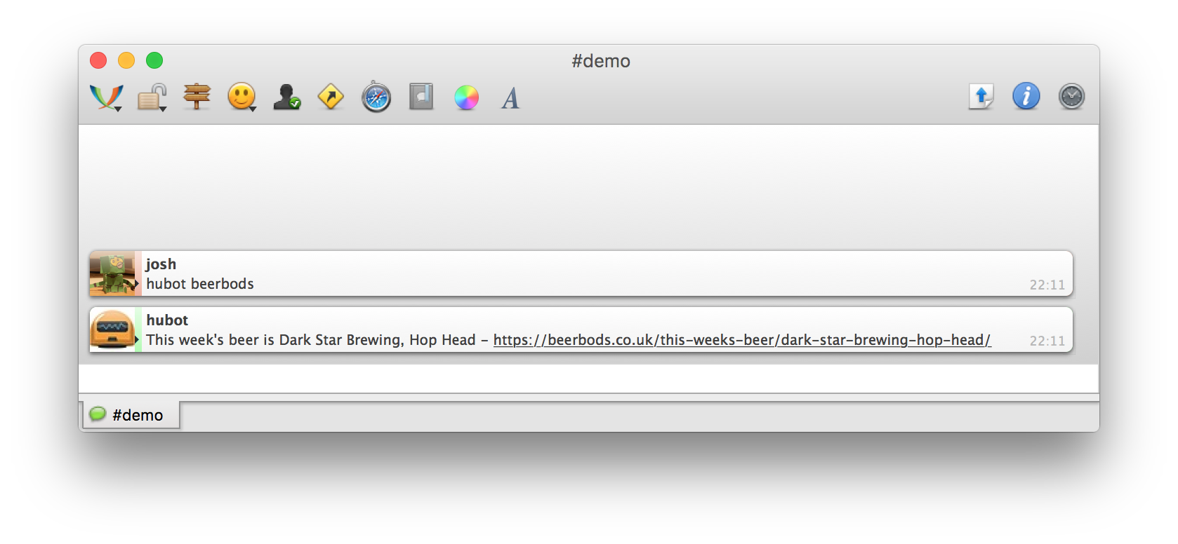 Preview in irc/xmpp