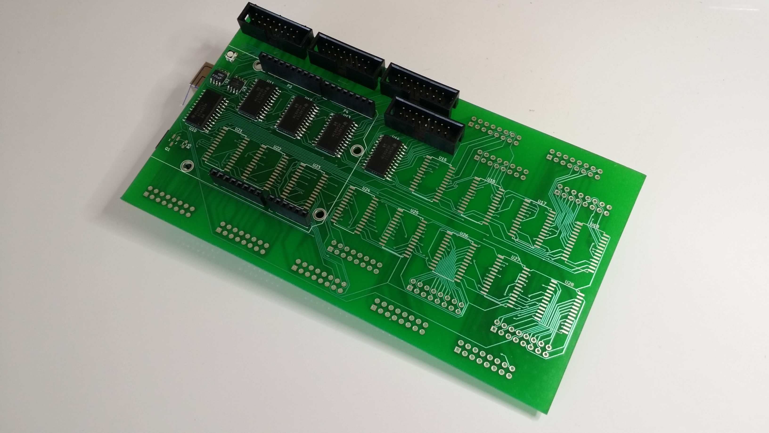 The Arduino Uno and its shield #1