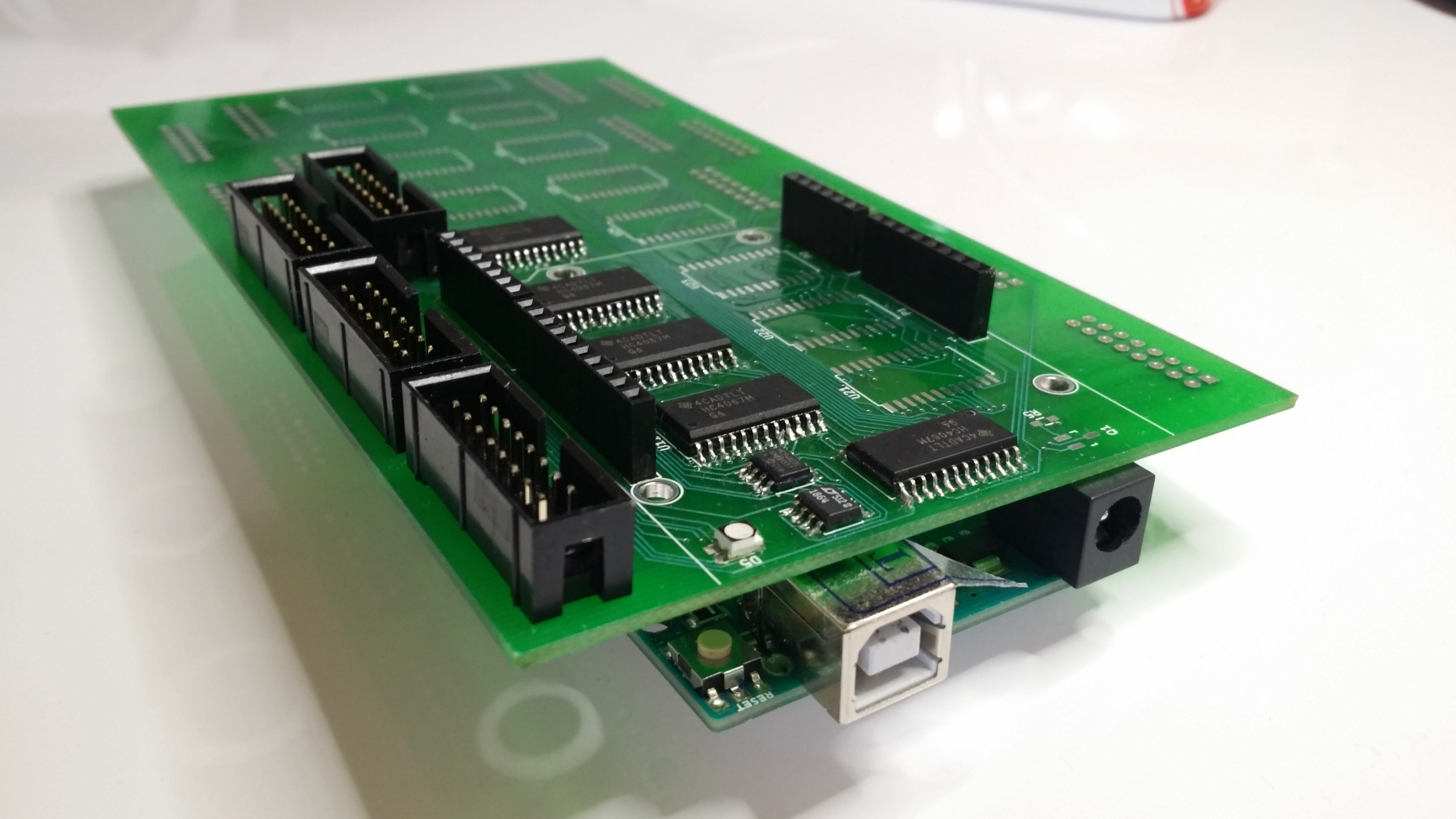 The Arduino Uno and its shield #2