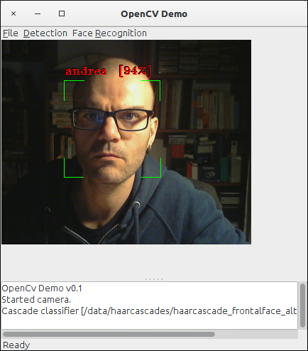 GitHub - andreaiacono/OpenCVDemo: Face detection and