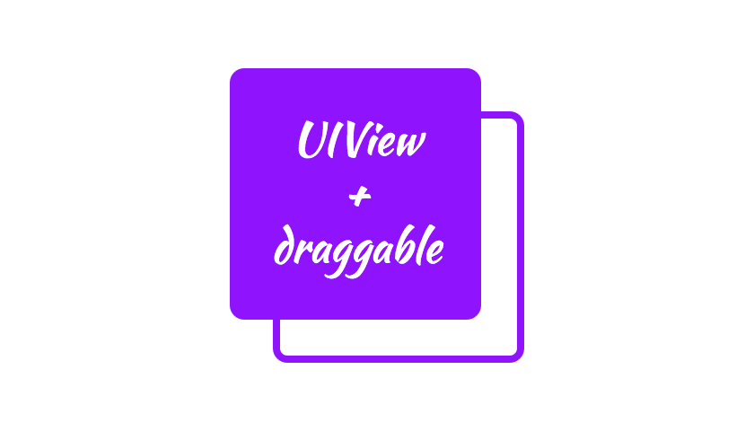 UIView+draggable