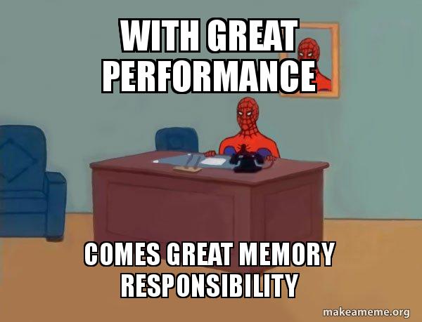 Meme spider man memory safety
