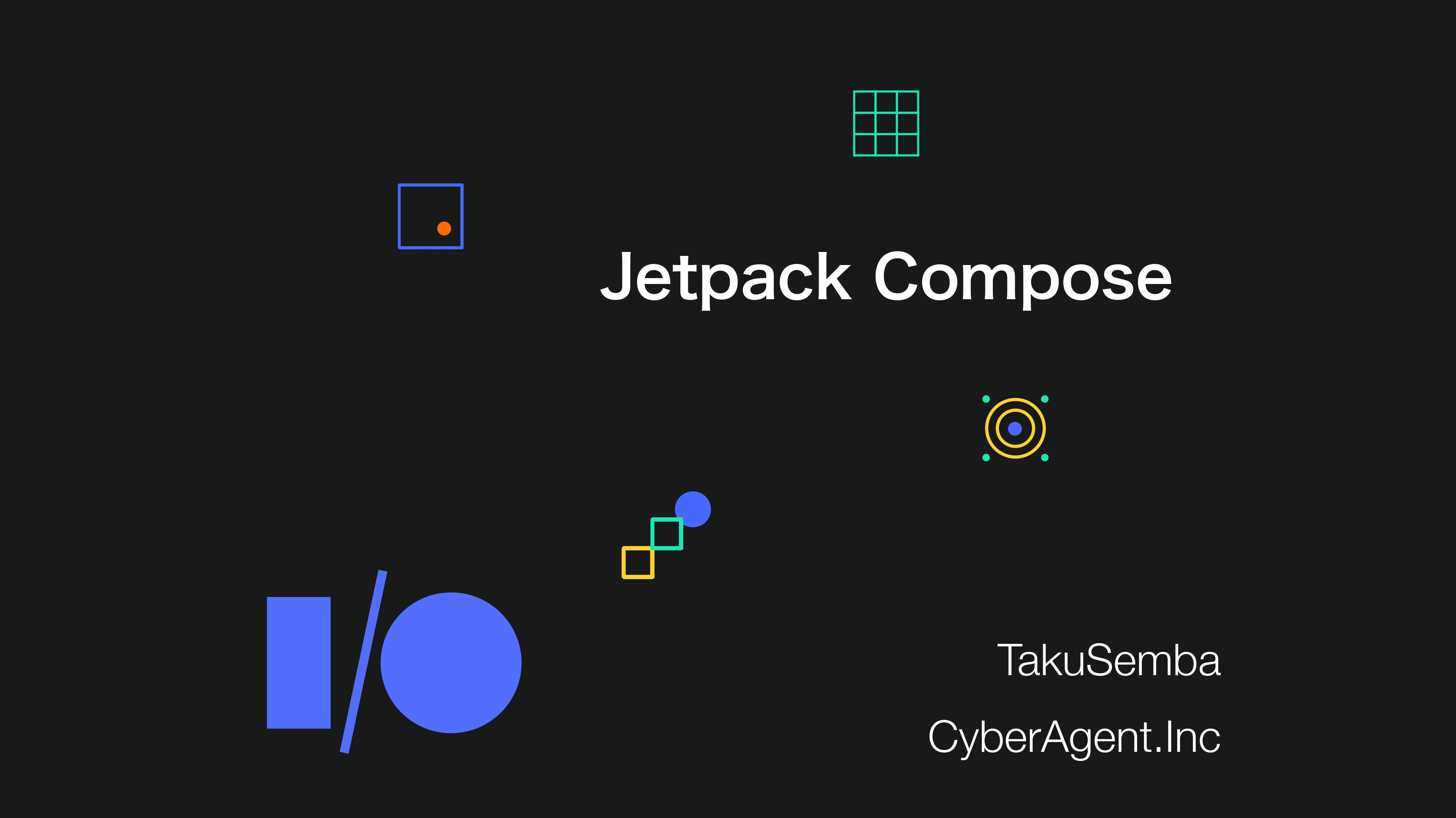 Jetpack Compose by TakuSemba
