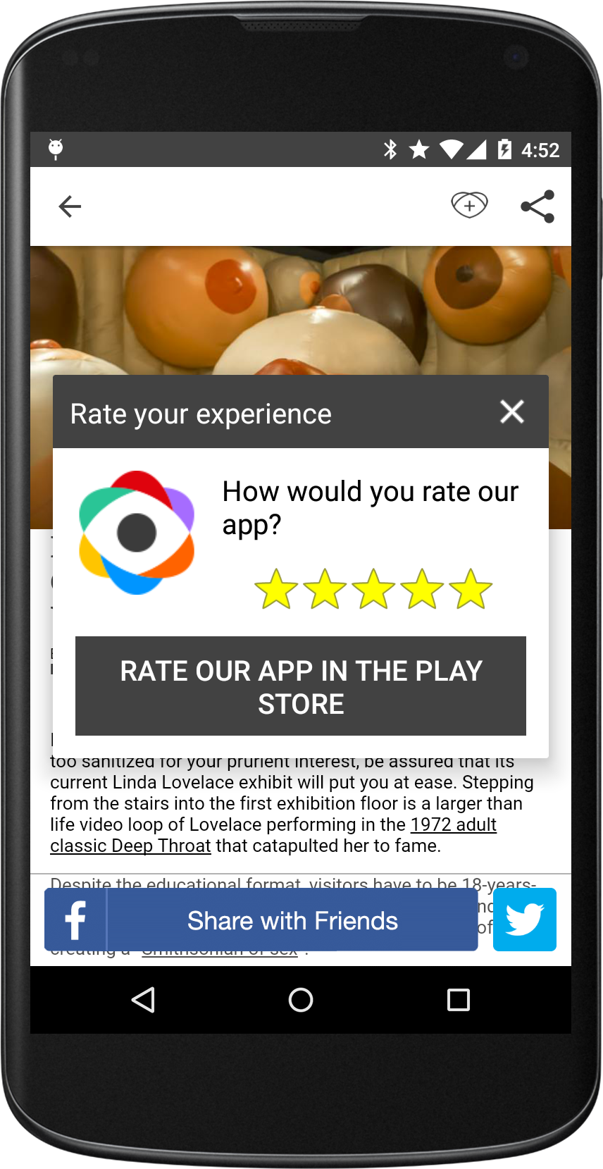 how to stop google play store pop ups