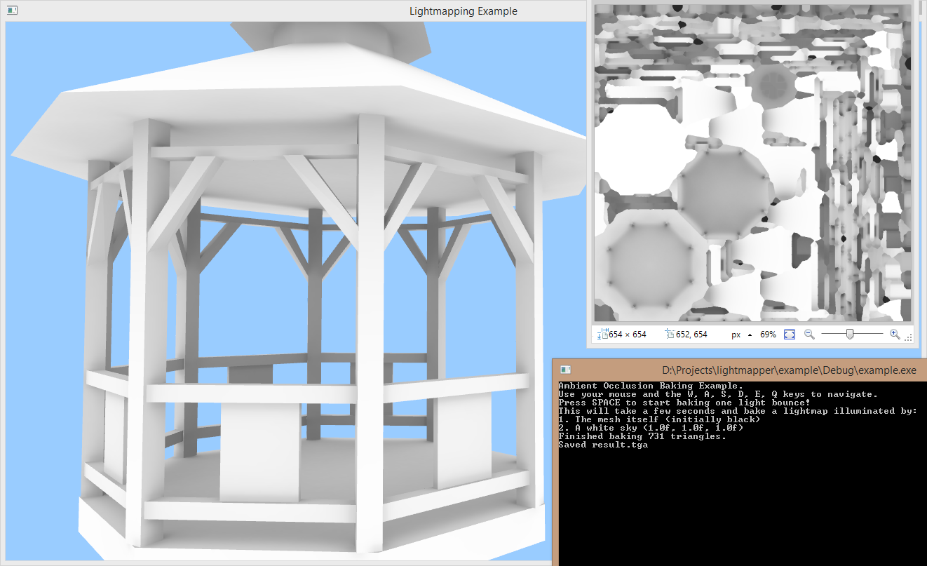 Lightmapper Example Screenshot