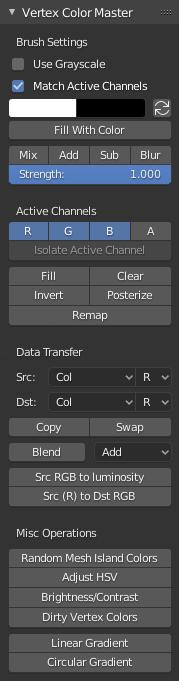 Vertex Color Master UI