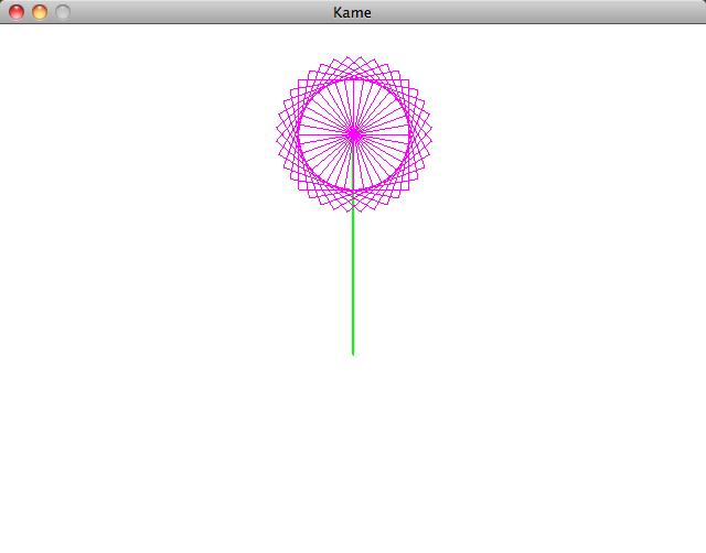 kame flower