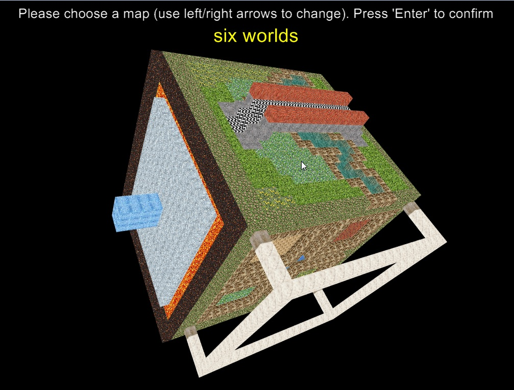 Choosing a map