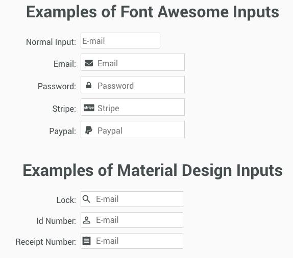 au-input examples