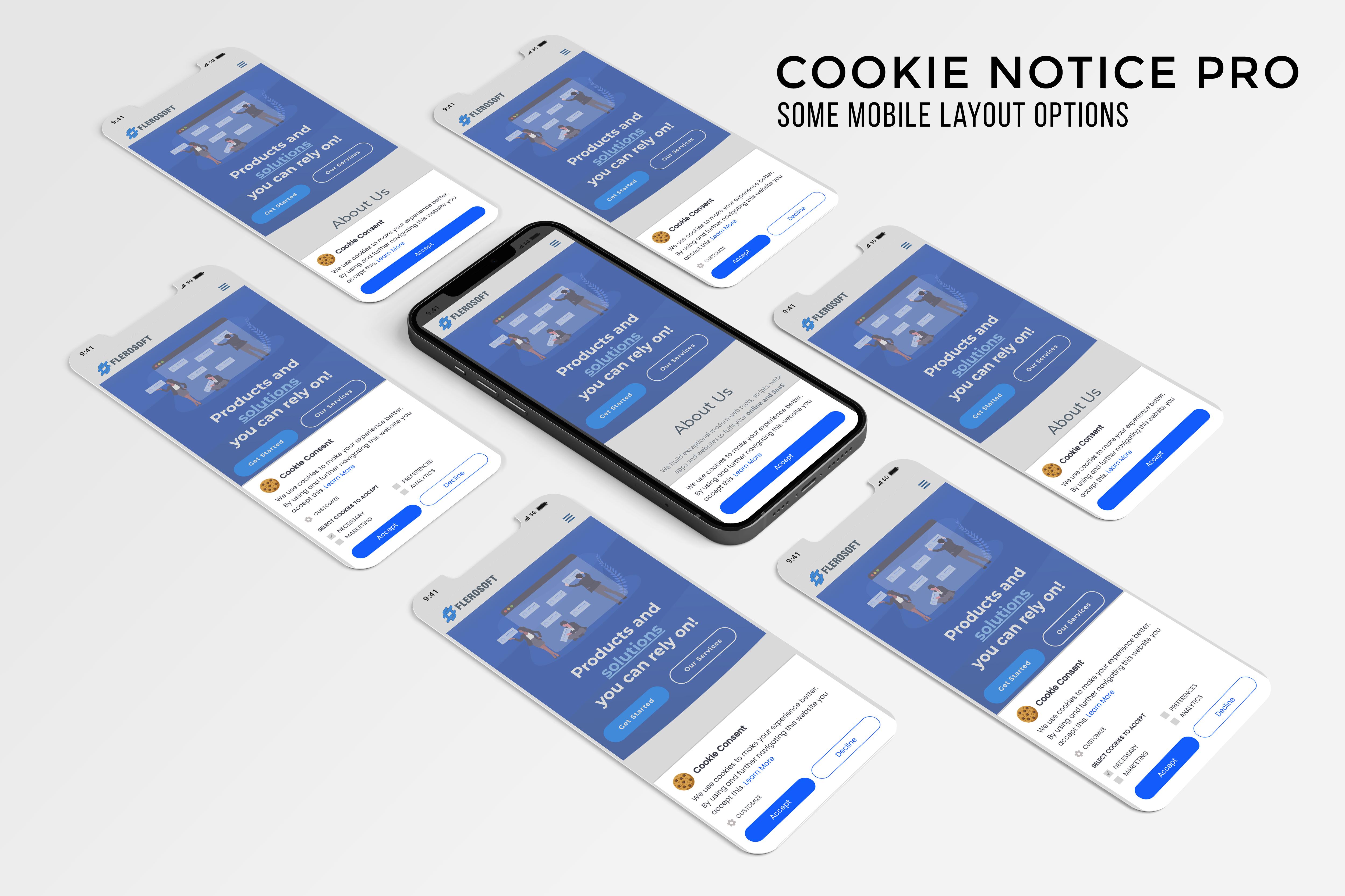 Cookie Notice Pro | Advanced jQuery Plugin - 2