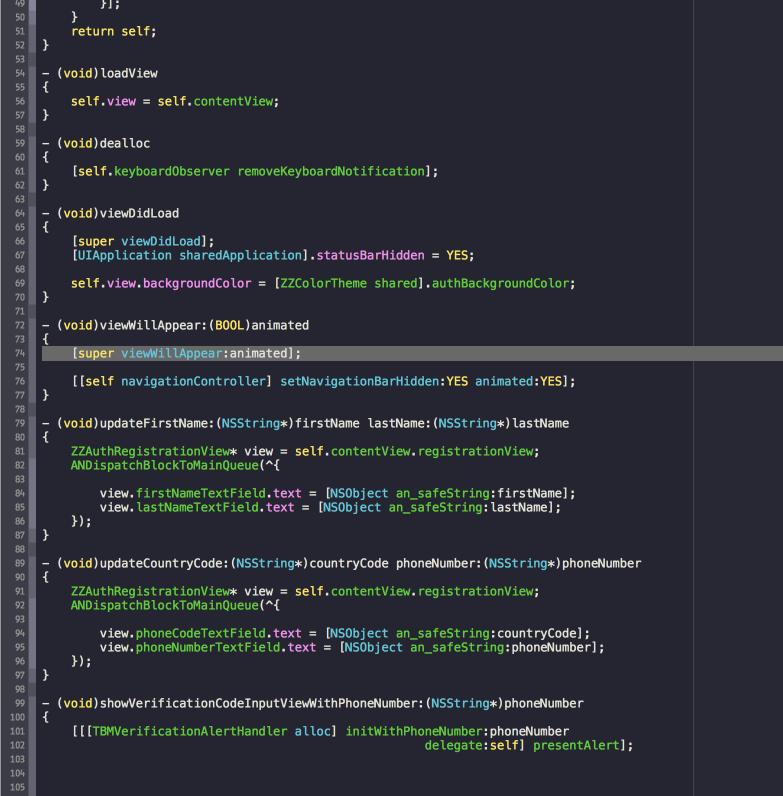 ANODA XCode Theme