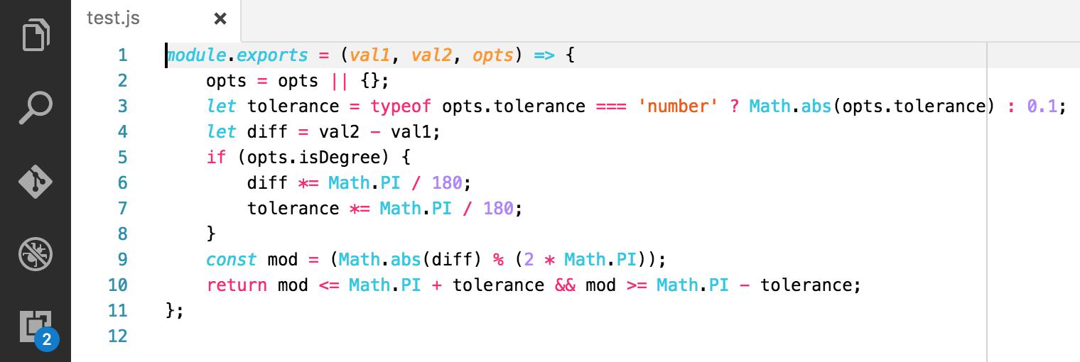 Javascript code highlighting