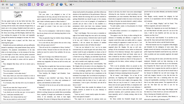 Multi-column stylesheet for Calibre ebook viewer screenshot