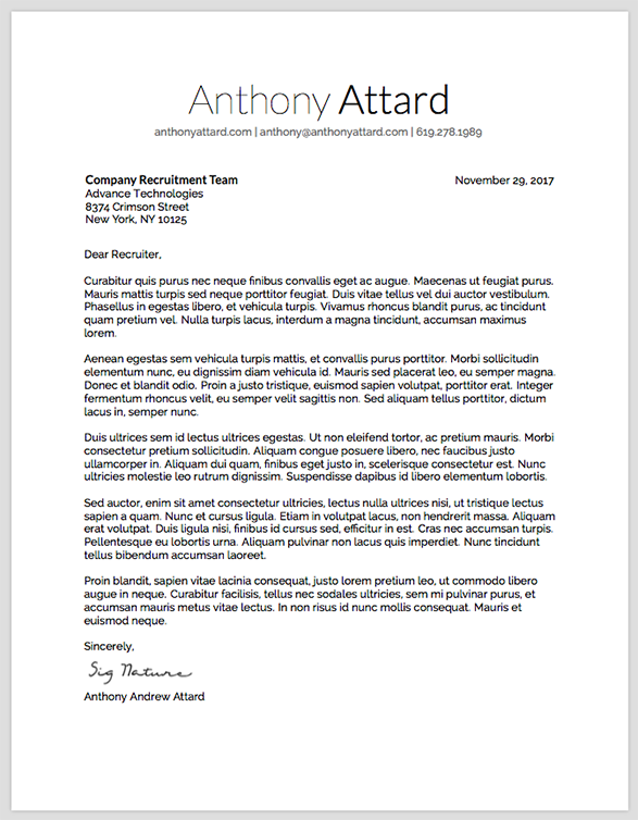 GitHub - anthonyattard/Deedy-Resume-Cover-Letter: A one page, two ...